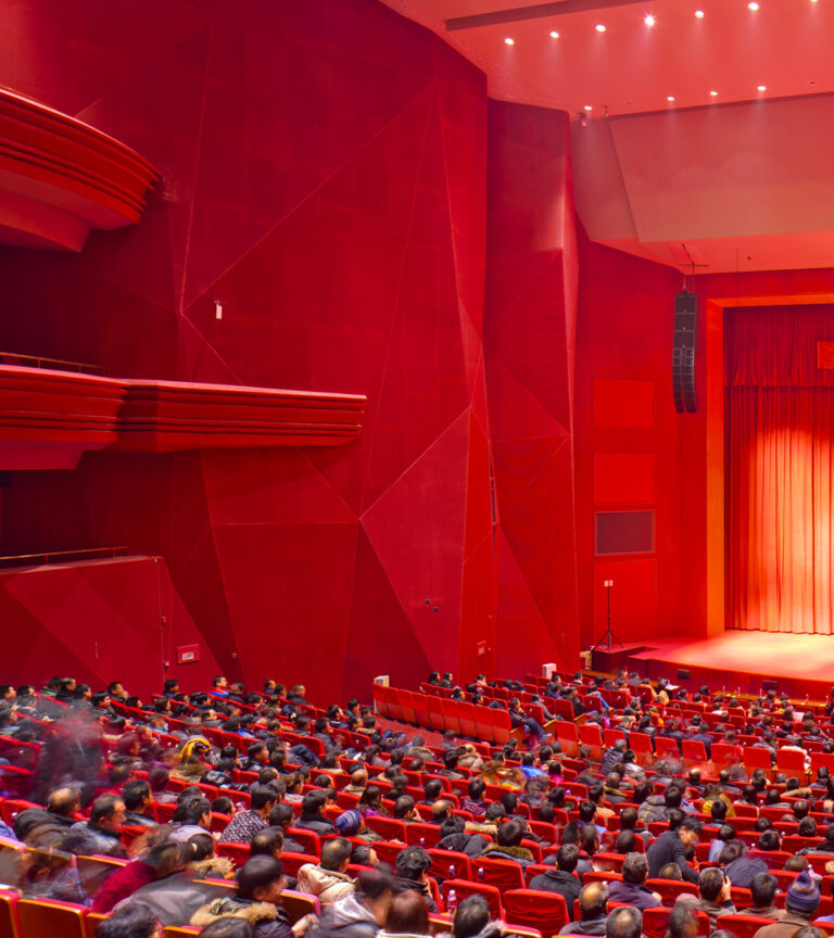 Opera du Shanxi, Taiyuan, Chine