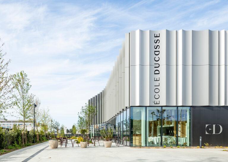 Ecole Ducasse – Paris Campus, Meudon, restaurant terrace
