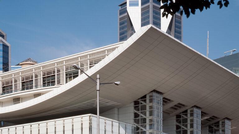 architecture chinoise, opéra shanghai, chine