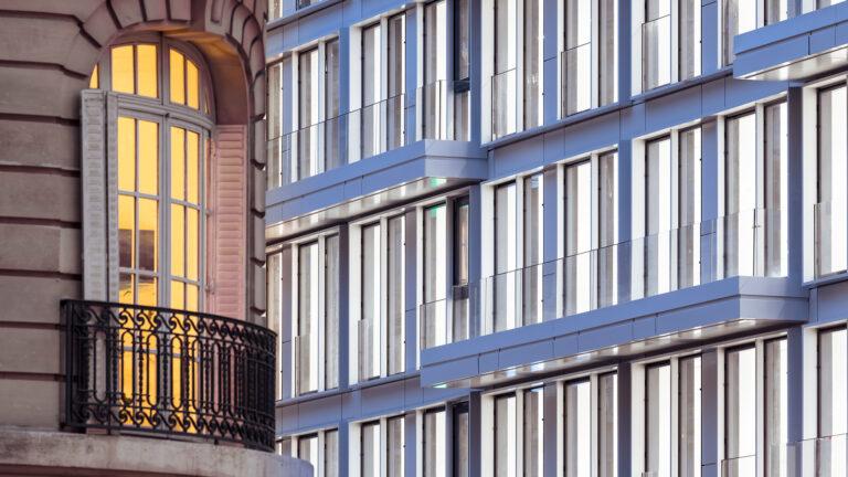 Cortis, Paris, facade