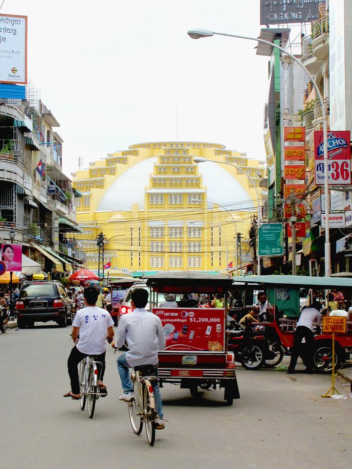 Marche central Phnom penh photo