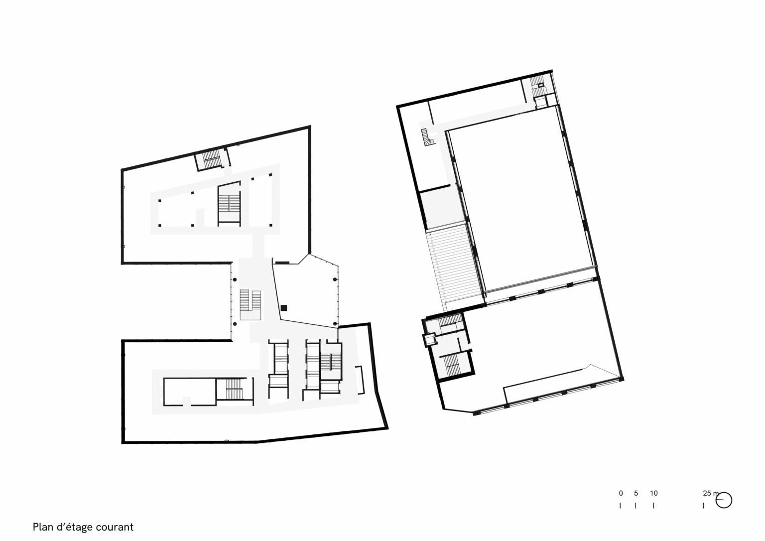 Paris Chapelle Tribeca plan